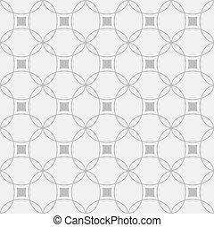 patrón, blanco, negro, seamless, geométrico