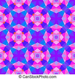 patrón, brillante, geométrico, multicolor, color.