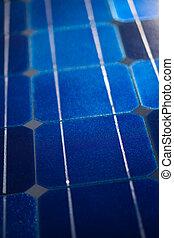 patrón, células, solar, plano de fondo, textura