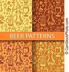 patrón, cerveza
