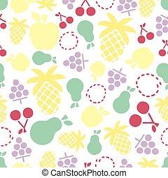 patrón, colorido, seamless, plano de fondo, sabroso
