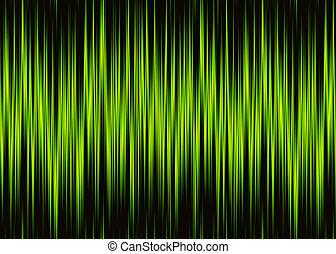 patrón, copia, forma de onda, neón, espacio
