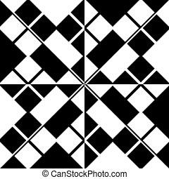 patrón, cuadrícula, seamless