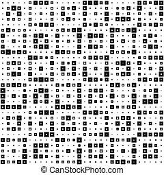 patrón, cuadrado, seamless