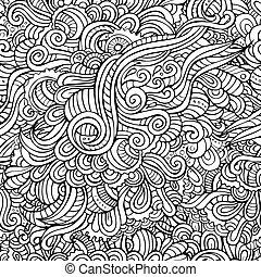 patrón decorativo, resumen, seamless
