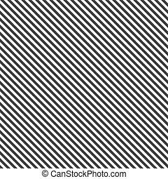 patrón, diagonal, seamless, -, líneas, vector