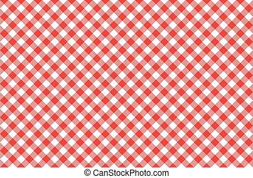 patrón, diagonal, seamless, plano de fondo, mantel, rojo