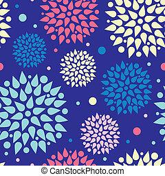 patrón, estallidos, colorido, seamless, plano de fondo