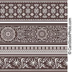 patrón floral, moda