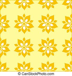 patrón floral, papel pintado