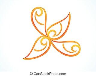 patrón floral, resumen, artístico