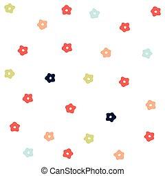 patrón floral, seamless