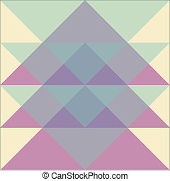 patrón, geométrico