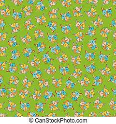 patrón, geométrico, líneas, seamless, triángulos