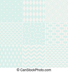 patrón, geométrico, seamless, textured