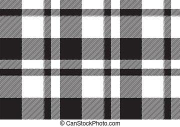 patrón geométrico, vector., tartán, escocia, tartán, cheque, fabric., vendimia, plano de fondo, texture., color, retro, seamless, cuadrado