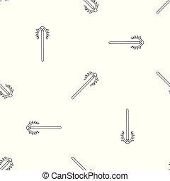 patrón, herramienta, vector, seamless, contracepción