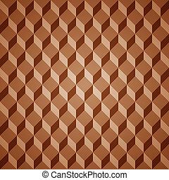 patrón, isométrico, vector