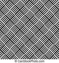patrón, líneas, seamless