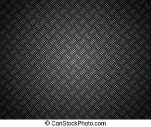 patrón, material, metal, textura, cuadrícula, carbón