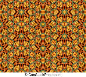 patrón, moderno, ornamento, seamless, étnico, geométrico