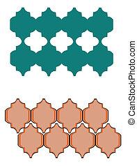 patrón, morisco, azulejos