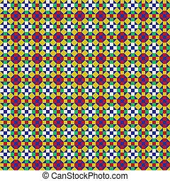 patrón, mosaico
