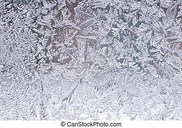patrón, natural, hielo