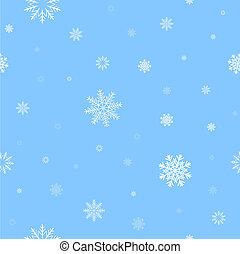 patrón, nieve blanca