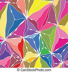 patrón, ondulado, seamless