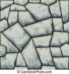 patrón, piedra, seamless