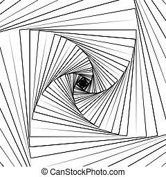 patrón, -, Plano de fondo, onda, concéntrico, cuadrados,...