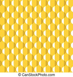 patrón, resumen, seamless, amarillo, superficie, con...