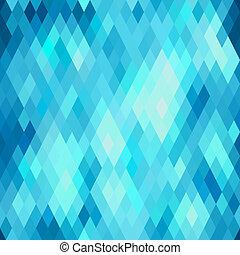 patrón, resumen, seamless, rhombus., geométrico
