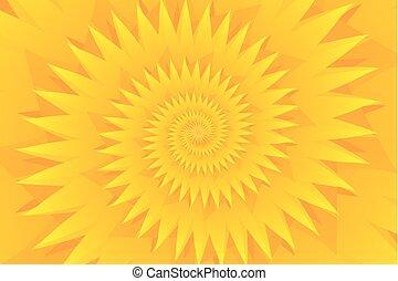 patrón, resumen, vector, estrella, amarillo