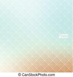 patrón, resumen, vector, geometr, plano de fondo, triángulos