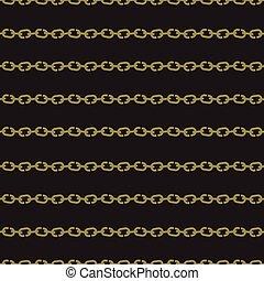 patrón,  seamless, cadena