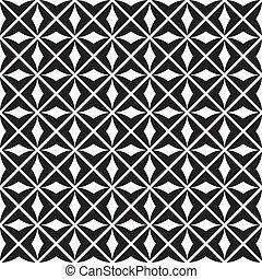 patrón, seamless, (vector)