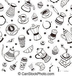 patrón, tiempo de café