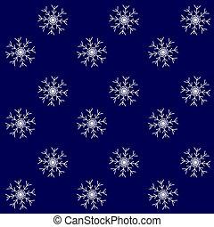 patrón, tormenta, nieve, plano de fondo, seamless