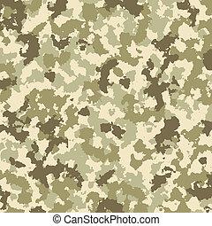 patrón, vector, camuflaje