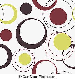 patrón, vector, seamless, ilustración