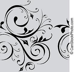 patrón, vector, seamless, papel pintado