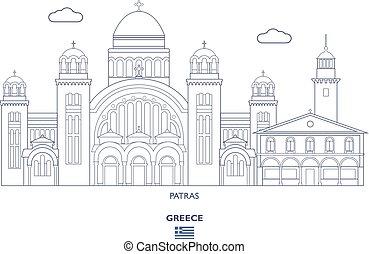 Patras City Skyline, Greece