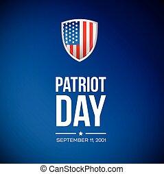 patrióta, szeptember, 11, -, 2001, nap