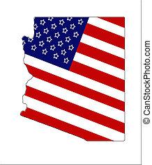 patriótico, 3, arizona