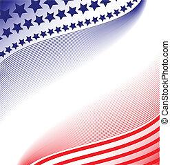 patriótico, abstratos