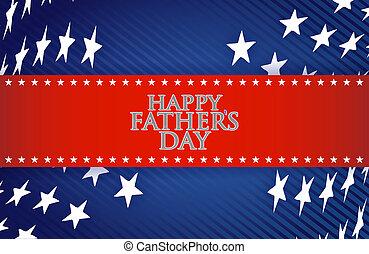 patriótico, día de padres, plano de fondo, feliz