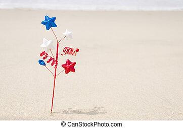 patriótico, decoración, estados unidos de américa, plano de fondo