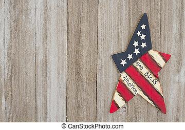 patriótico, estados unidos de américa, retro, plano de fondo